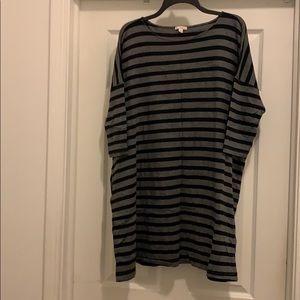 GAP striped piko style tunic/dress